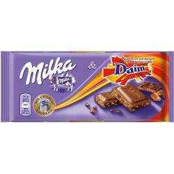 Milka 100gr Daim