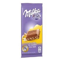 Tablette Milka 100Gr Riz...
