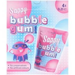 Sappy Bubble Gum 4x200Ml